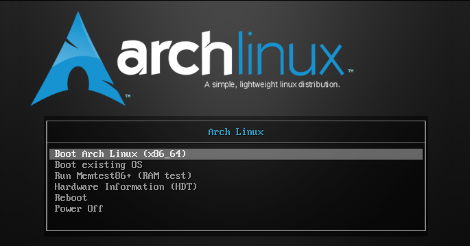 Know you Arch Linux? No, i will you the discover