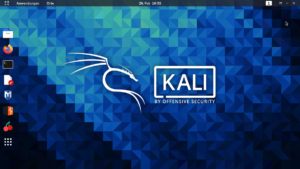 How to have the Ip of website with the Kali Linux?